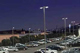 HYL BASL 150W LED street light parking lot USA