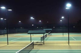HYL BASL 100W led street light for tennis court USA
