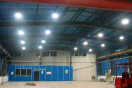 HYL 150W RHB LED high bay light application Saudi Arabia