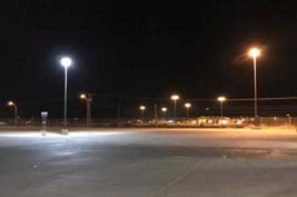 100W LED Flood light application Indonesia