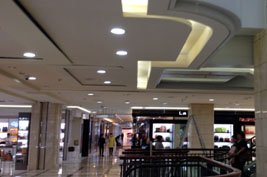 40W RDL LED down light application shopping mall